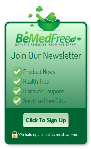 BeMedFree.com Newsletter Sign-Up