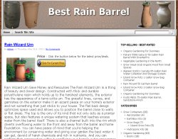 Thumbnail screenshot of BestRainBarrel.com