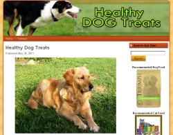 Thumbnail screenshot of HealthyDogTreatsOnline.com