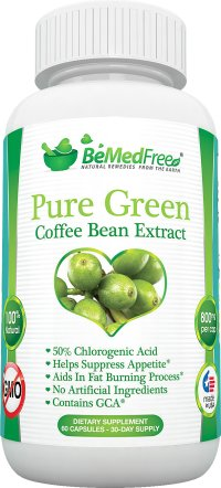 Lose weight with pure green coffee bean extract