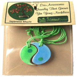 Yin Yang Plantable Necklace